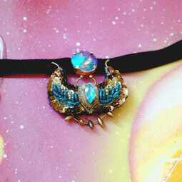 Choker with scarab